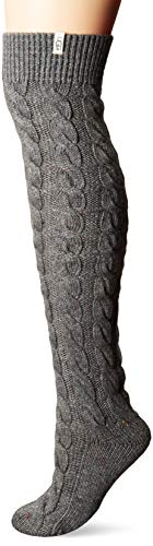 UGG Women's Chloe Over The Knee Sock, GREY HEATHER, O/S