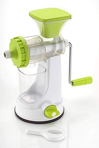 Ganesh New Smart Plastic Multipurpose Juicer Set, 2-Pieces, White