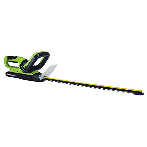 Earthwise LHT12021 Volt 20-Inch Cordless Hedge Trimmer, 2.0Ah Battery & Fast Charger Included