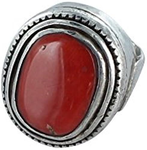 suministro de productos de calidad VENDIMIA TIBETANA CORAL CORAL CORAL anillo de plata GRANDE  edición limitada en caliente