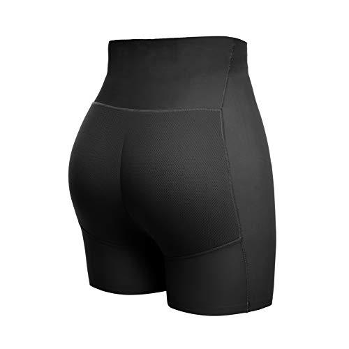 Joyshaper Damen Unterhose Padded Höschen Push Up Panty Miederslip Nahtlose Unterwäsche mit Mittlere Taille