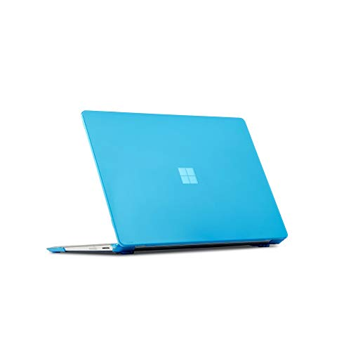 iPearl mCover Hard Shell Case for 13.5-inch Microsoft Surface Laptop (3/2 / 1) Computer (NOT Compatible with Surface Book and Tablet) (Aqua)