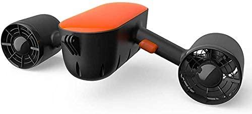 Sgxiyue Scooter Submarino, Buceo Elevador, diseño de Carga por Contacto fácil de Mover, Puede 60 Minutos, Scooter eléctrico en Impermeable, Utilizado para el Buceo y la natación (Color : A)