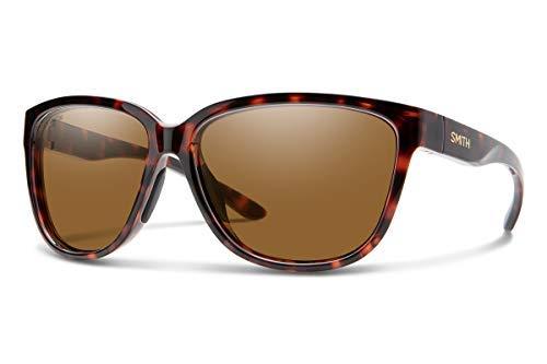 Smith Damen MONTEREY Sonnenbrille, Tortoise/Chromapop Polarized Brown, 58