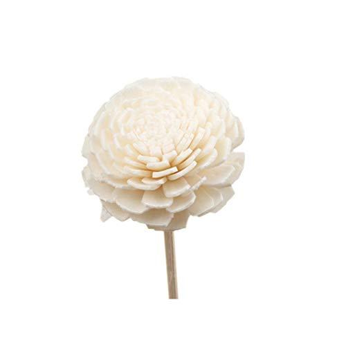 profumatore per ambienti design bastoncini SUPVOX 5 pz rattan reed diffusore fiore canne di olio essenziale bastoncini profumati diffusore di olio fragranza per camera da letto bagno soggiorno ufficio