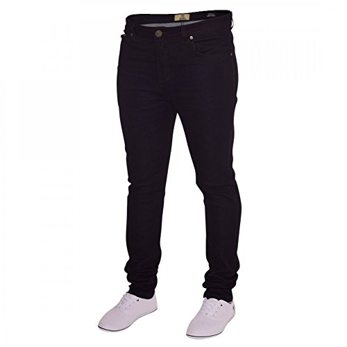 Island Trading Mens Skinny Stretch Slim Fit Stretchable Denim Jeans Cotton...