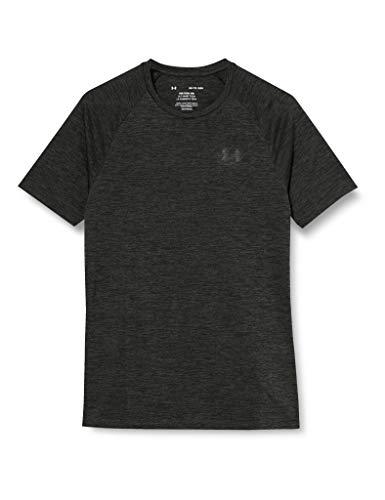 Under Armour Herren Kurzarm-Shirt Tech T-Shirt, Kurzärmlig, Baroque Green//Black (311), L, 1326413-311