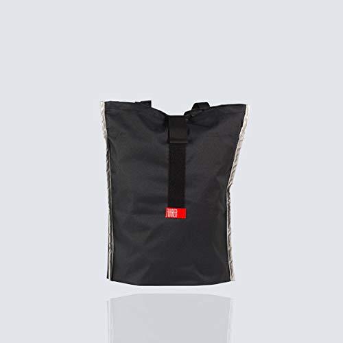 FAHRER Berlin Unisex– Erwachsene KONSUM Einkaufstasche, Schwarz, Einheitsgröße