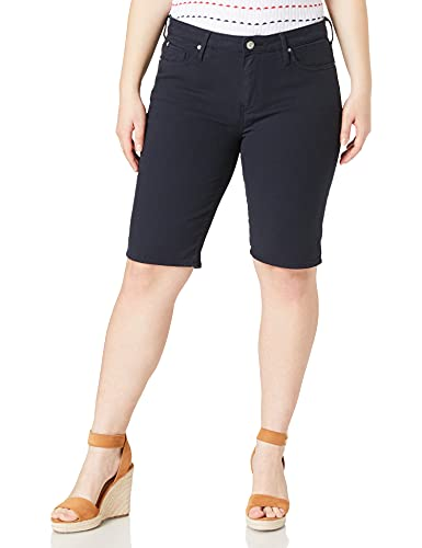 Tommy Hilfiger Damen Venice Slim RW CLR Bermuda Shorts, Blue, NI30