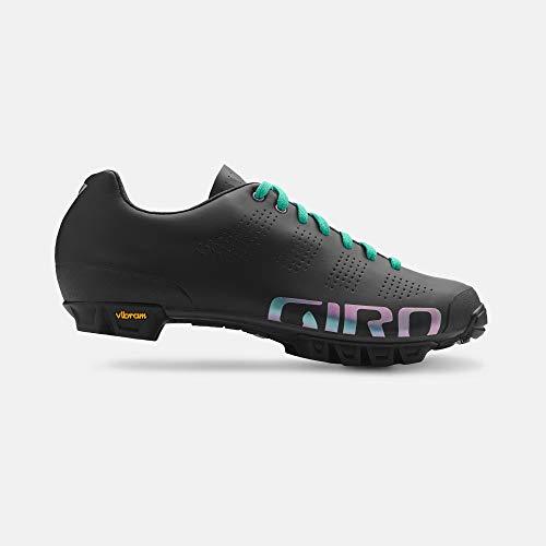 Giro Empire Vr90 MTB, Zapatos de Bicicleta de montaña para Mujer, Multicolor (Black/Marble Galaxy 000), 39 EU