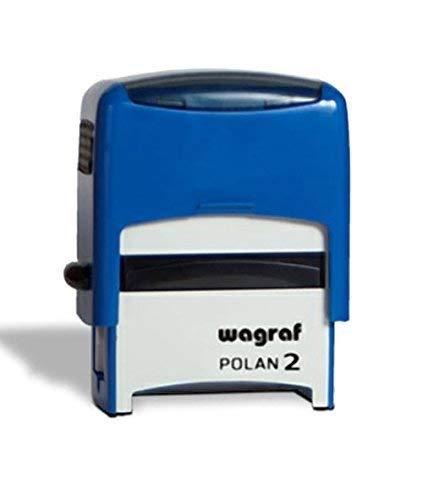 Stempel Farbwerk mit Custom Cover Wagraf Automatik 39 X 15 mm Italian Style Diffusion