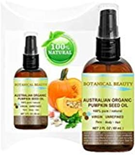 Sponsored Ad - ORGANIC PUMPKIN SEED OIL Australian. 100% Pure / Natural / Undiluted /Unrefined Cold Pressed Carrier Oil. 2...