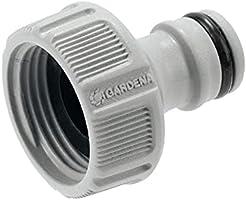 """GARDENA kraanaansluiting 26,5 mm (G 3/4""""): Aansluiting voor waterkranen met schroefdraad, waterdichte verbinding,..."""