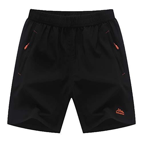 FRAUIT heren sports shorts sneldrogende korte broek voor sport en vrije tijd loopbroek in de zomer losse strandbroek modieus mooi design stretch zacht streetwear