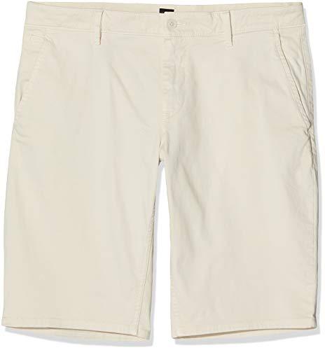 BOSS Herren Schino-Slim Shorts, Weiß (Open White 120), W31(Herstellergröße: 31)