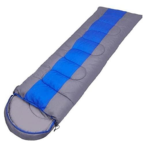 Ruluti Camping Bolso de Dormir Ligero 4 Temporada sobre cálido y frío Bolso para Dormir para al Aire Libre Que viaja Senderismo