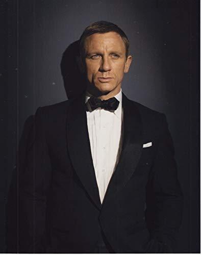 大きな写真、007、ダニエル・クレイグ、蝶ネクタイ