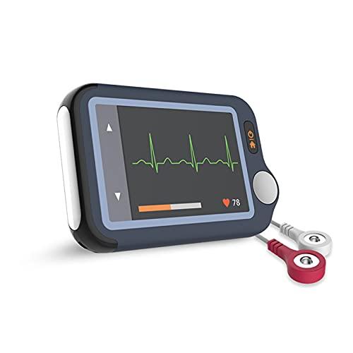Monitor ECG, Monitor cardiaco con ECG, dispositivo EKG Bluetooth con APP