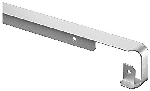 NORDLINGER PRO Eckverbindungsprofil - Arbeitsplatte 38 mm - Form 2 Viertelrunden