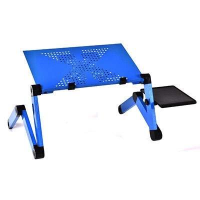Chunjiao Mesa de aluminio de aleación de aluminio Mesa de aleación de aluminio Piedra plegable de escritorio con cama de refrigeración Cama de la bandeja de la bandeja de la bandeja de la bandeja de l
