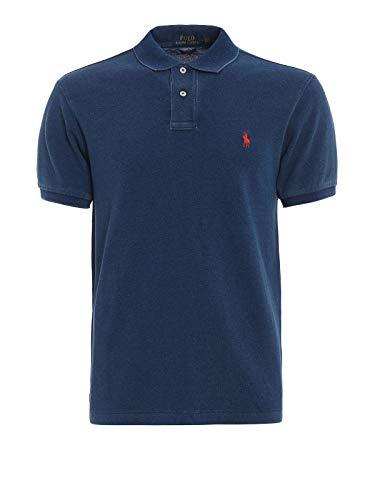 Ralph Lauren Luxury Fashion Herren 710536856160 Blau Baumwolle Poloshirt | Jahreszeit Outlet