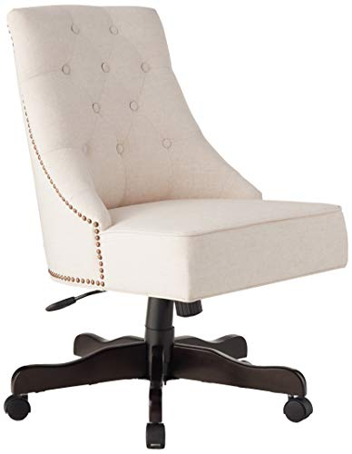 OSP Home Furnishings Rebecca Tufted Back Chair with Nailhead Accents,...