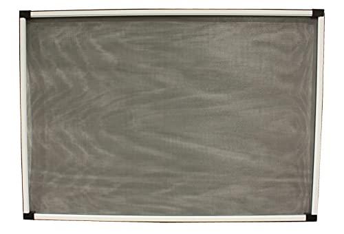 Mosquitera adaptable de aluminio blanco, mosquitera ventana, anti-insectos (mosquitos o moscas) (70x100-190)
