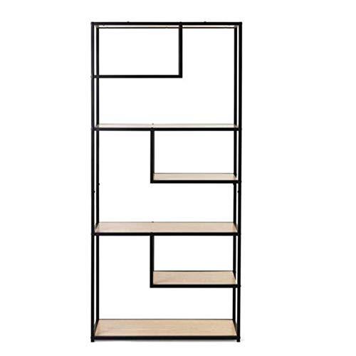 Boekenkast, boekenlegger industrieel ontwerp met planken keuken plank,Black