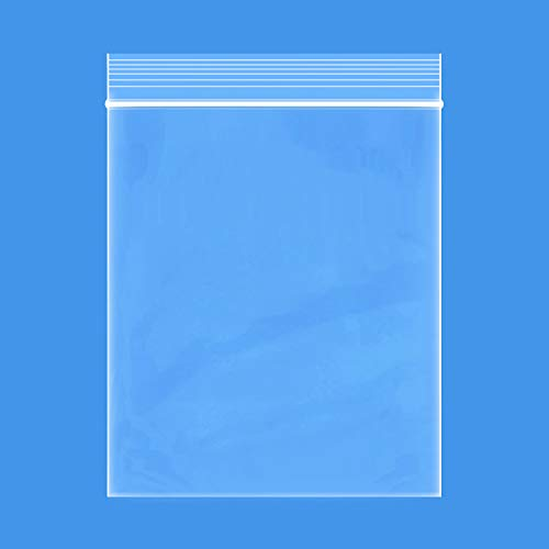 """Edvision 3"""" x 5"""" Plastic Bags, 200 Count 2 Mil Transparent Resealable Zipper Poly Bags, Reclosable Storage Bags for Jewelry Supplies, Beads, Screws, Small Items"""