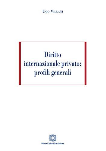 Diritto internazionale privato: profili generali