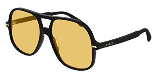 Gucci GG0706S BLACK/YELLOW 58/16/145 Mens Zonnebrillen