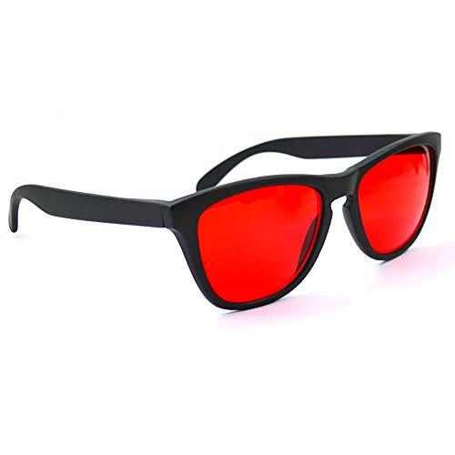 ZUEN Daltónicos Vidrios del Conductor Ciego Al Color Femenino Y Masculino Correctiva Gafas De Sol Daltónicos Rojo-Verde Gafas