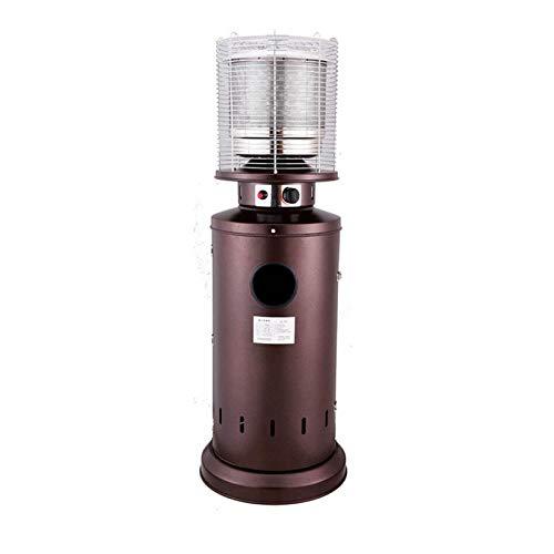 Calentador de Gas, Jardín Terraza Ahorro de energía del Calentador licuado, Gas Natural al Aire Libre Calentador Puede Humidificar de Agua en ebullición (Color : Natural Gas)