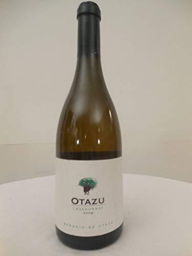otazu señorío de otazu chardonnay blanc 2009 - navarra espagne: une bouteille de vin.