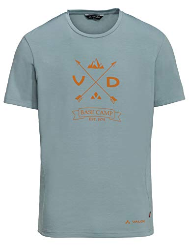 VAUDE Herren T-shirt Men's Gleann Shirt V, blue elder, 48, 409179565200