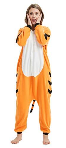 Dorliki Pijama para Adultos Cosplay Disfraz de Animal para Halloween Navidad Ropa de Dormir