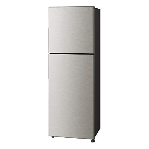 シャープ冷蔵庫(幅54.5cm)225L右開き2ドアSJ-D23E-S