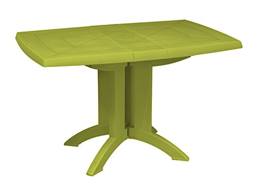 GROSFILLEX 52149282 Table Vega 118 x 77, Vert Cactus, 118 x 77 x 72 cm