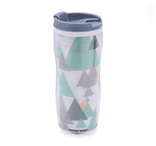Quid 450ML Mint QD Vaso termo 0,45 L, Cuerpo doble pared, Bebidas...