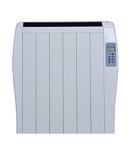 Chemin'Arte 209 Elektrische radiator, keramiek, 500 W, extra plat, wit