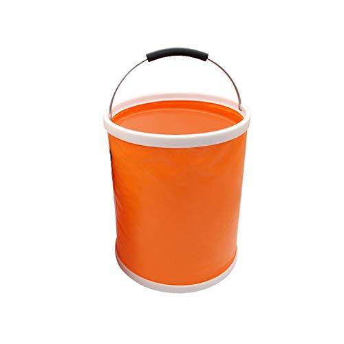 Opvouwbare emmer, draagbaar, voor het wassen van auto's, telescoop, buiten, vissen, 13 liter, 20 liter, draagbaar