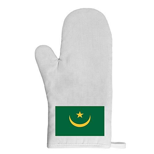Mygoodprice Ofenhandschuh Topflappen Flagge Mauretanien