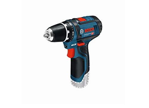 Bosch Professional 12 V systemowa wiertarko-wkrętarka akumulatorowa GSR 12 V-15 (bez akumulatorów i ładowarki, w kartonie)