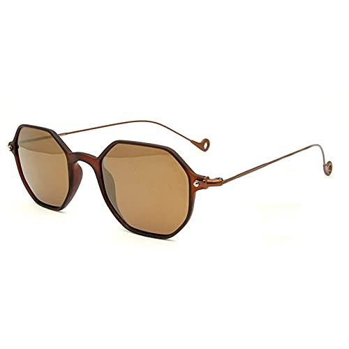 Gafas De Sol Para Mujeres Tamaño medio Marrón