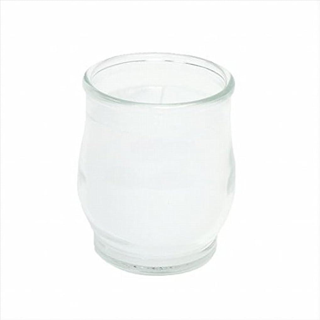 十分沼地角度カメヤマキャンドル(kameyama candle) ポシェ(非常用コップローソク) 「 クリア 」