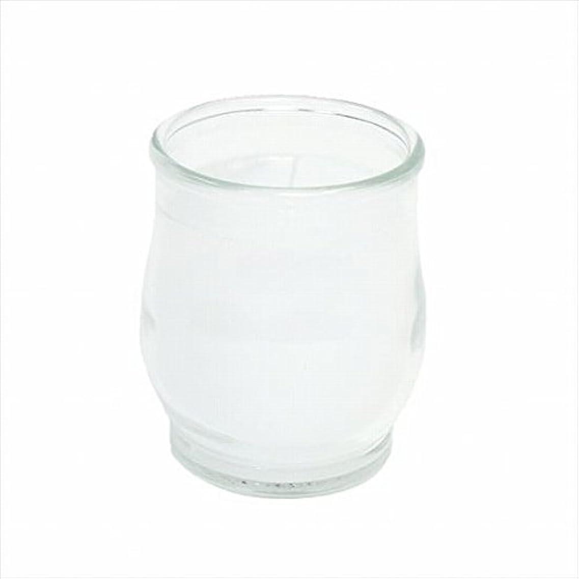 降ろす群衆音楽カメヤマキャンドル(kameyama candle) ポシェ(非常用コップローソク) 「 クリア 」