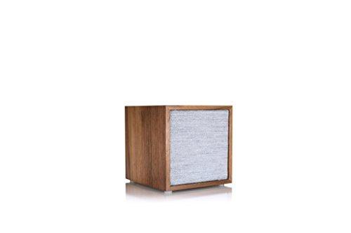 Tivoli ART Cube Multiroom Wand-Lautsprecher (Bluetooth/WiFi) Walnuss/grau
