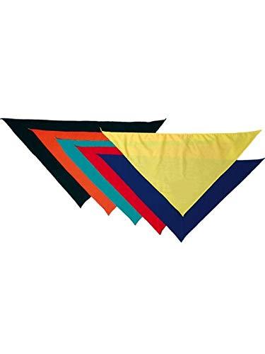 DISBACANAL Pañuelo Triangular para el Cuello - Amarillo, Unica