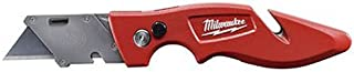 Milwaukee 48-22-1901 Fastback Press and Flip Utility Knife with Belt Clip and Onboard Wire Stripping