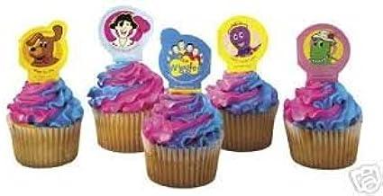 Wiggles Cupcake Decoration Picks Pkg of 12